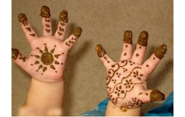Kids mehndi designs