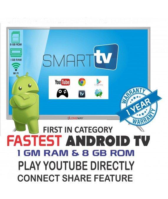 LONGWAY LW-50 126 cm ( 50 ) Smart Full HD (FHD) LED Television